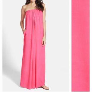 Hot Pink YOUNG FABULOUS & BROKE Sleeveless Dress